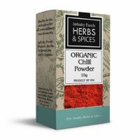 Infinity Foods Organic Chilli Powder 25g